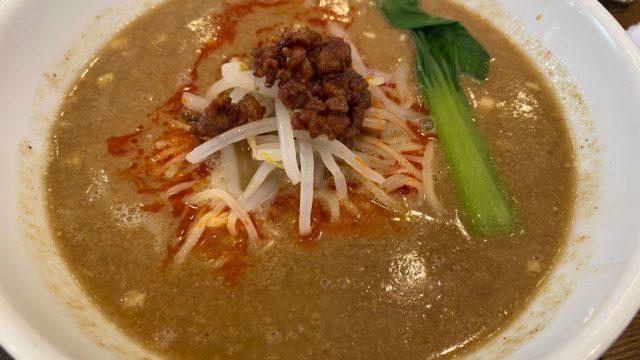 チャイナ長江の担々麺
